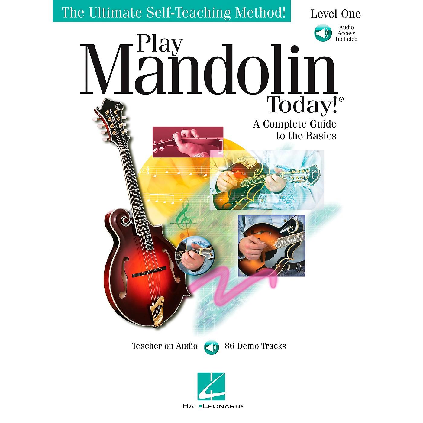 Hal Leonard Play Mandolin Today! level One Book/CD thumbnail
