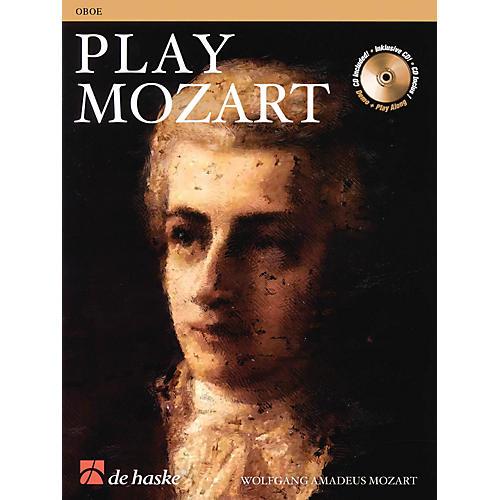 De Haske Music Play Mozart De Haske Play-Along Book Series BK/CD thumbnail