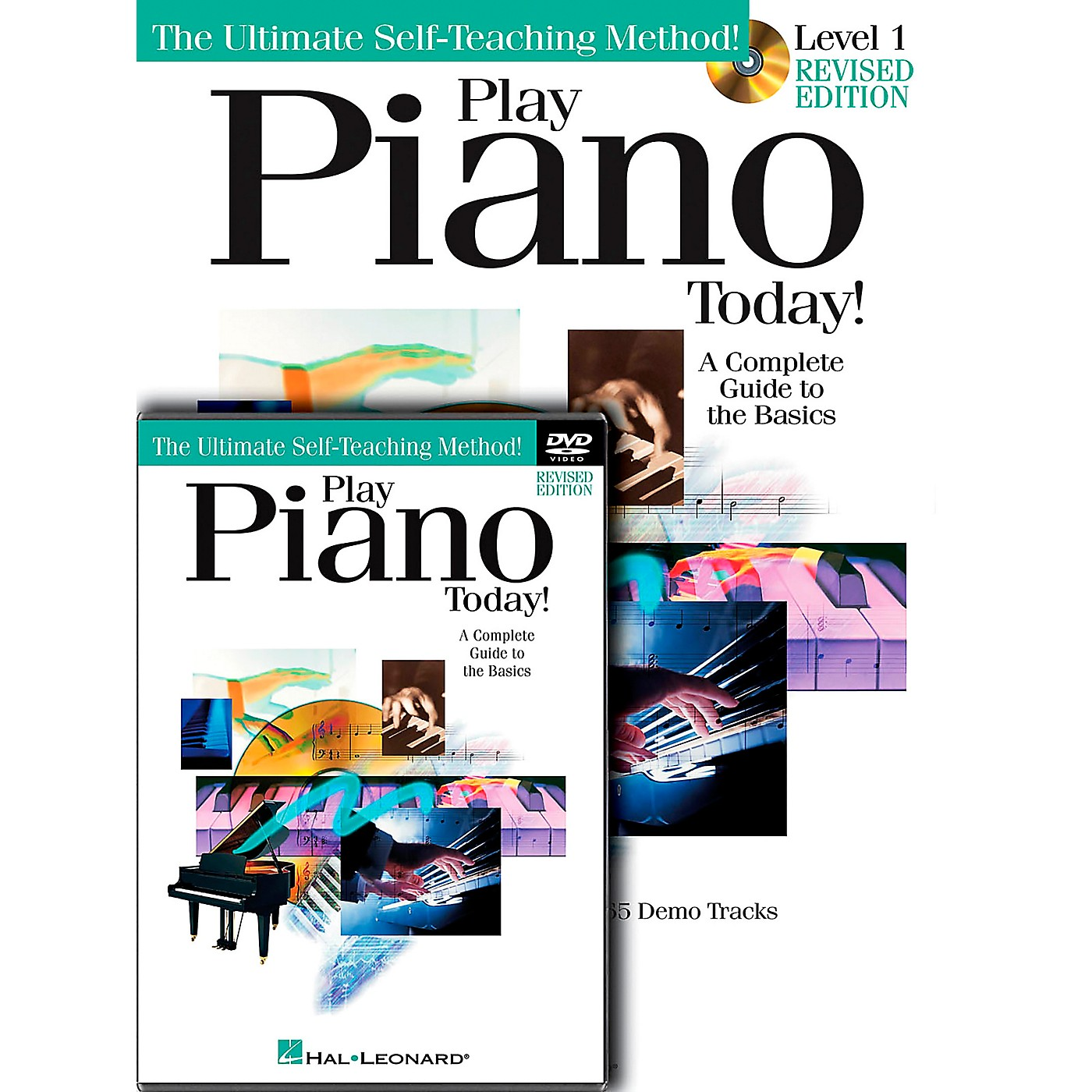 Hal Leonard Play Piano Today! Level One (Book/CD/DVD) thumbnail