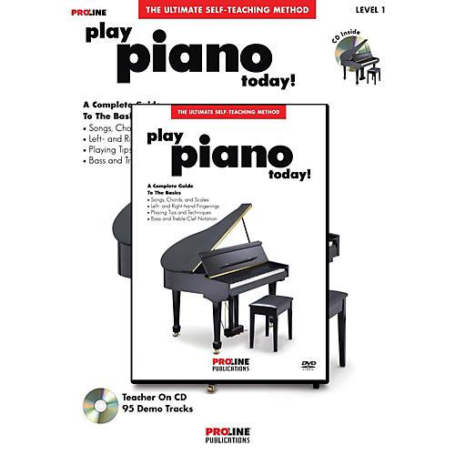 Proline Play Piano Today! Method (Book/CD/DVD) thumbnail