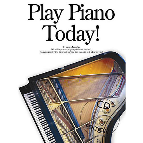 Music Sales Play Piano Today! Music Sales America Series Softcover with CD Written by Amy Appleby thumbnail