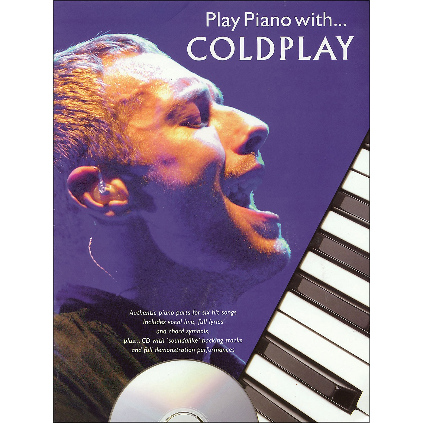Hal Leonard Play Piano with Coldplay- Book/CD arranged for piano, vocal, and guitar (P/V/G) thumbnail