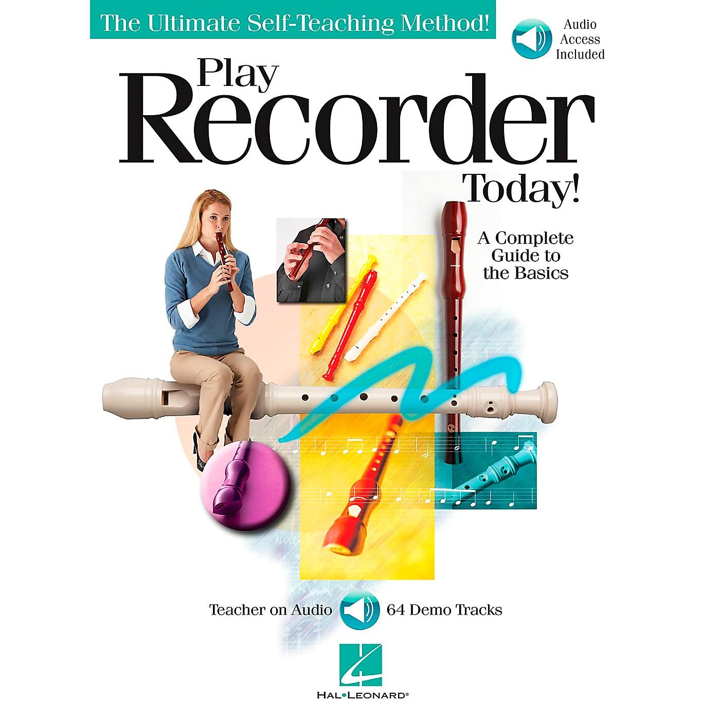 Hal Leonard Play Recorder Today (Book/CD) thumbnail