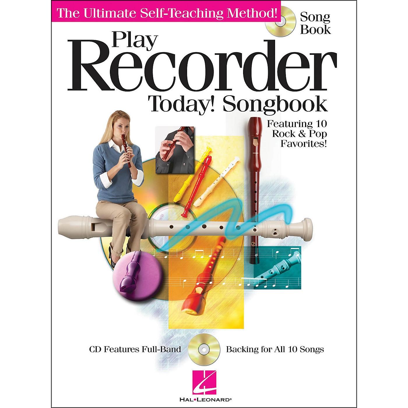 Hal Leonard Play Recorder Today! Songbook (CD/Pkg) thumbnail