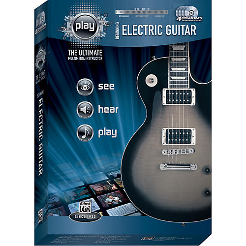 Alfred Play Series Beginning Electric Guitar (CD-ROM) thumbnail
