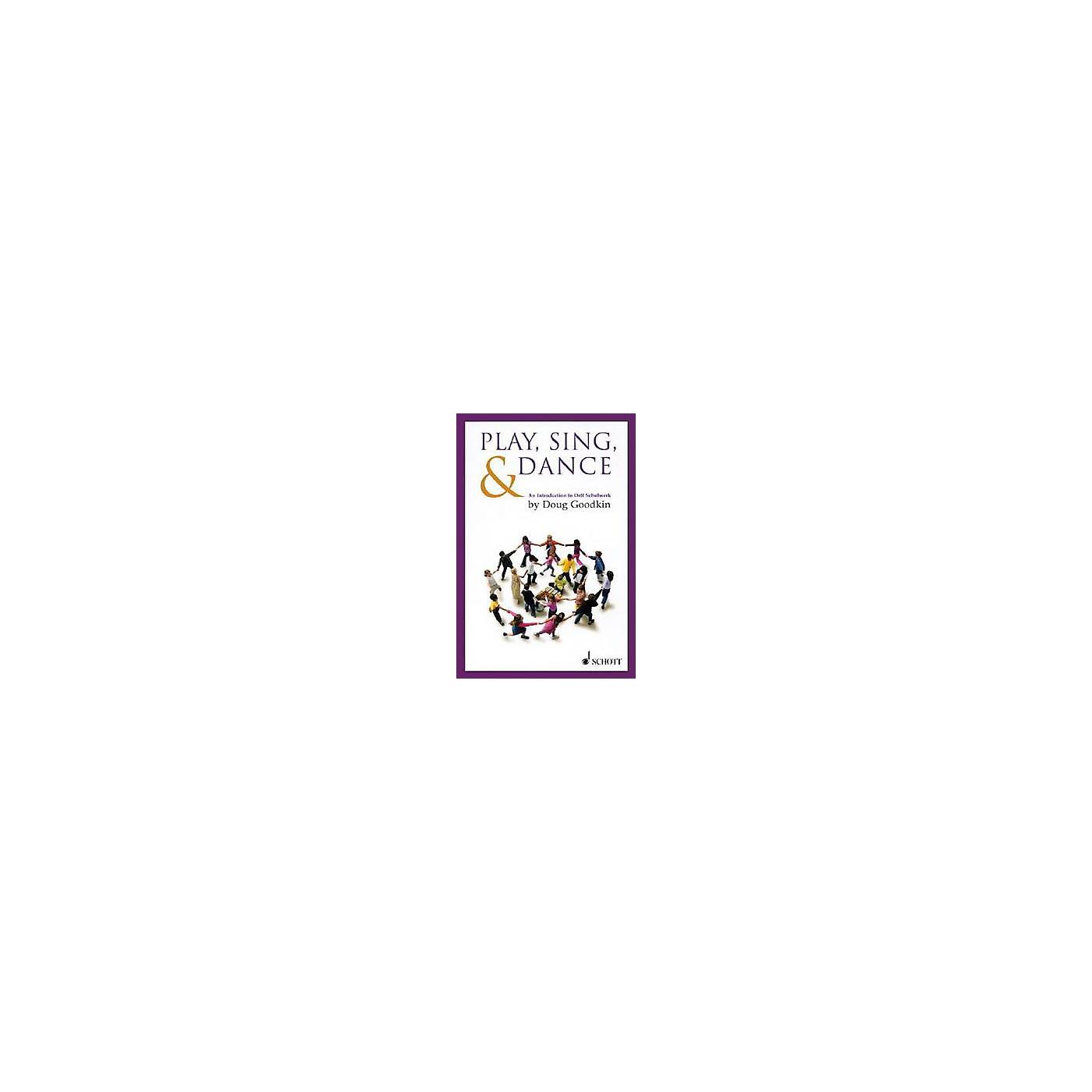 Schott Play, Sing & Dance - An Introduction To Orff Schulwerk thumbnail