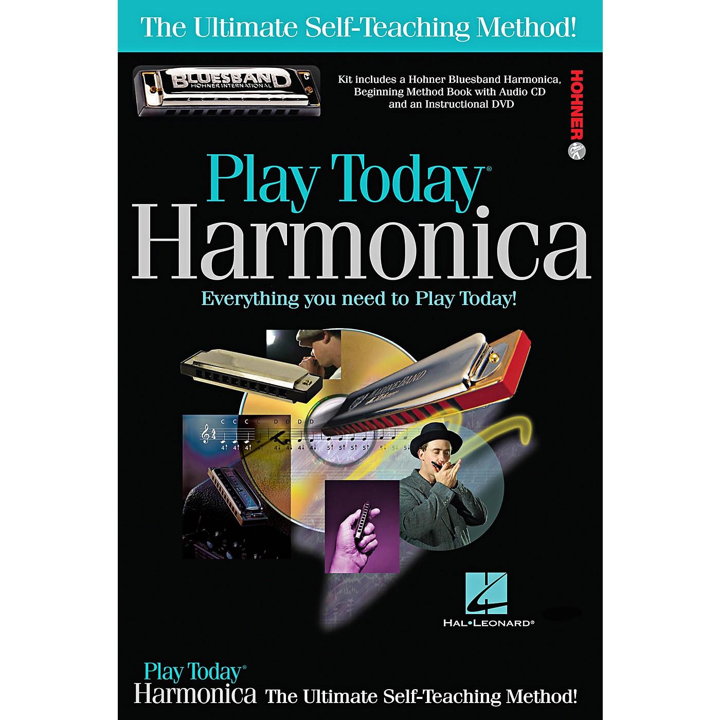 Hal Leonard Play Today Harmonica Complete Kit (Book/CD/DVD/Harmonica) thumbnail
