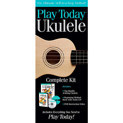 Hal Leonard Play Today Ukulele Complete Kit thumbnail