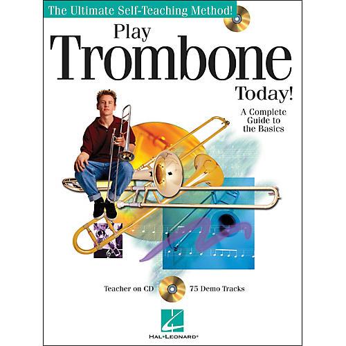 Hal Leonard Play Trombone Today! Book/CD-thumbnail