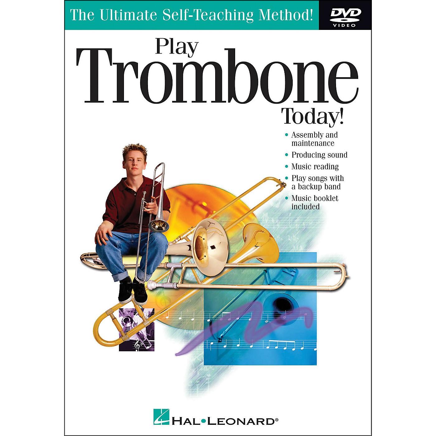 Hal Leonard Play Trombone Today! DVD thumbnail