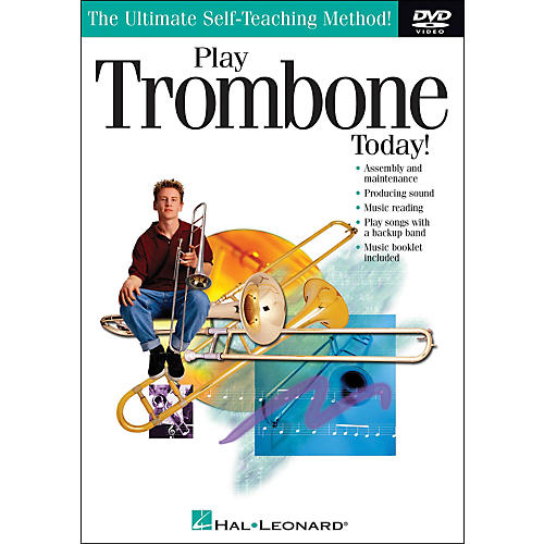 Hal Leonard Play Trombone Today! DVD thumbnail