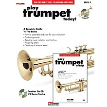 Proline Play Trumpet Today Beginner's Pack Book/CD/DVD