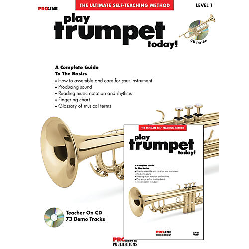 Proline Play Trumpet Today Beginner's Pack Book/CD/DVD thumbnail
