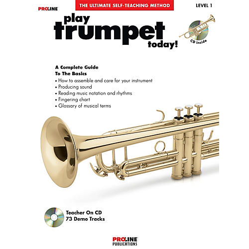 Proline Play Trumpet Today Book/CD thumbnail