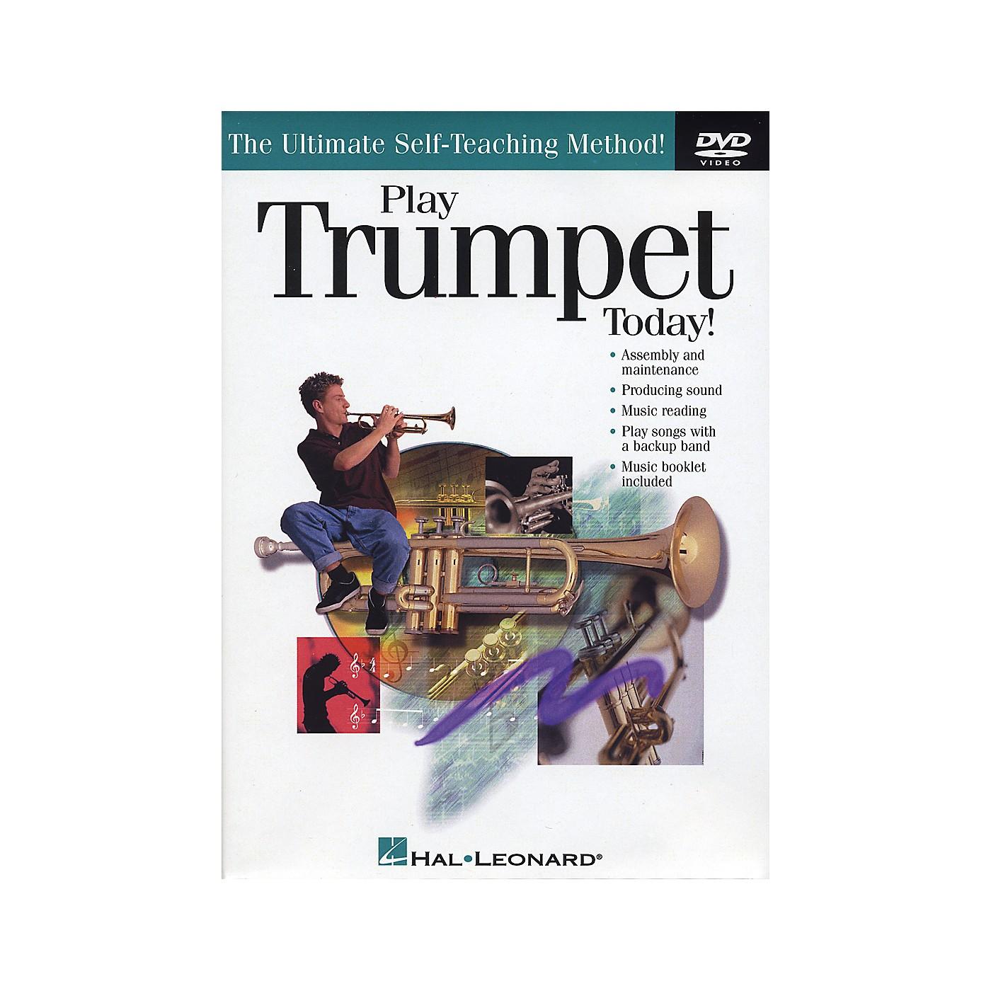 Hal Leonard Play Trumpet Today! (DVD) thumbnail