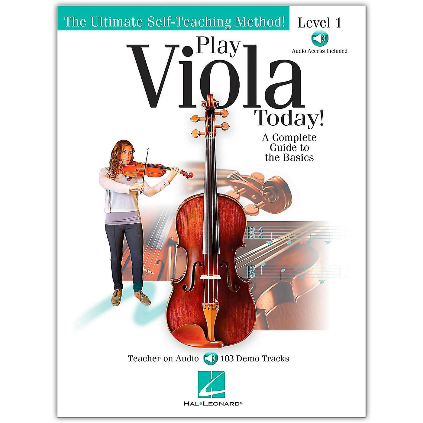 Hal Leonard Play Viola Today!  A Complete Guide to the Basics (Book/Online Audio) thumbnail