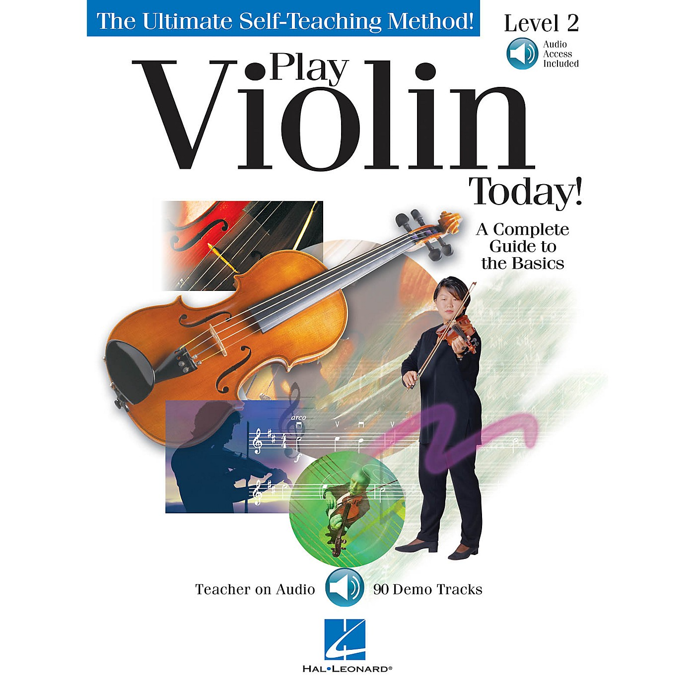 Hal Leonard Play Violin Today! - Level 2 Play Today Instructional Series Series Softcover with CD by Various Authors thumbnail