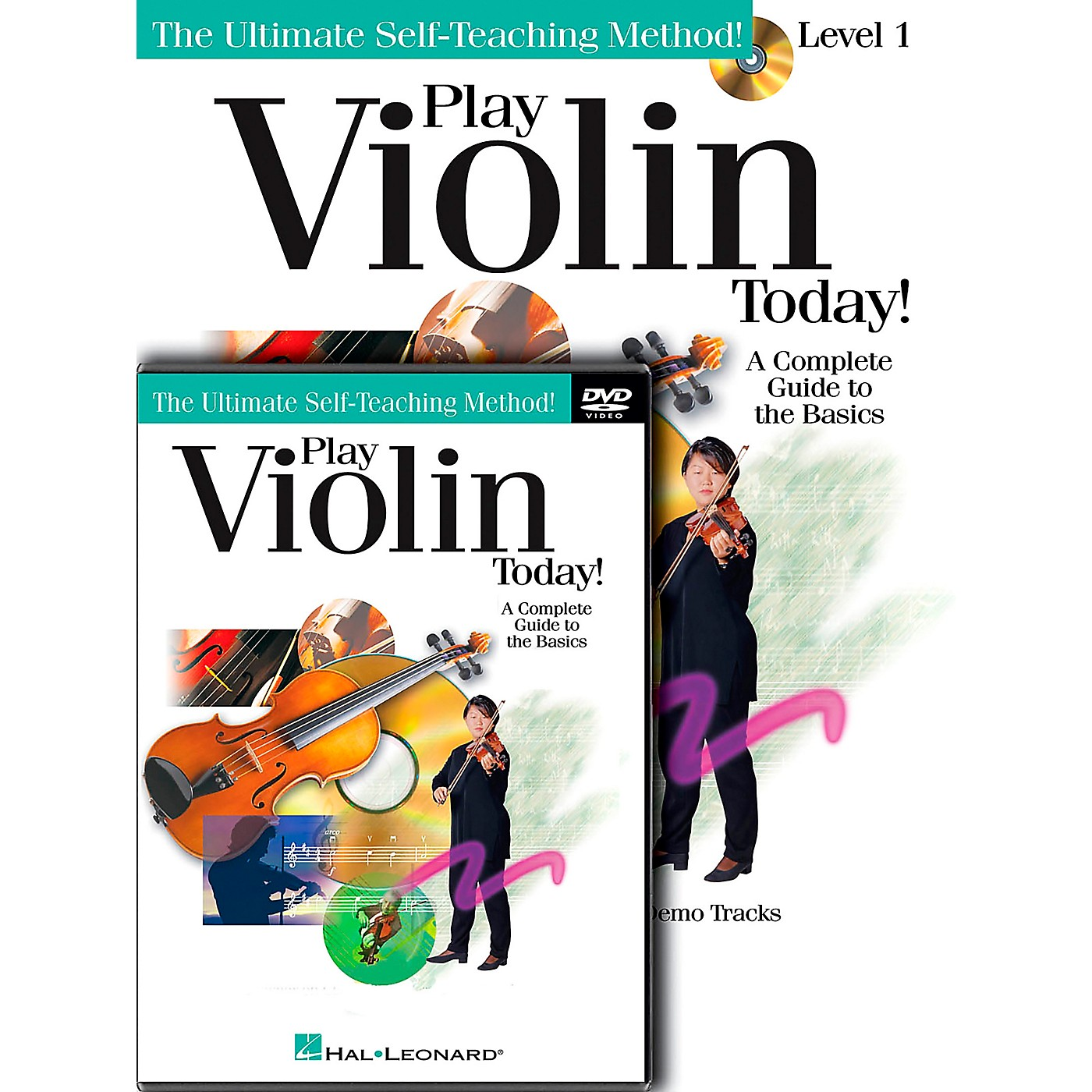 Hal Leonard Play Violin Today! Beginner's Pack - Includes Book/CD/DVD thumbnail