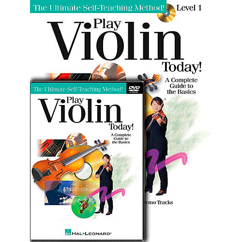 Hal Leonard Play Violin Today! Beginner's Pack - Includes Book/CD/DVD-thumbnail