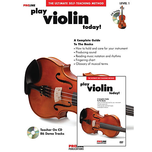 Proline Play Violin Today Beginner's Pack Book/CD/DVD thumbnail