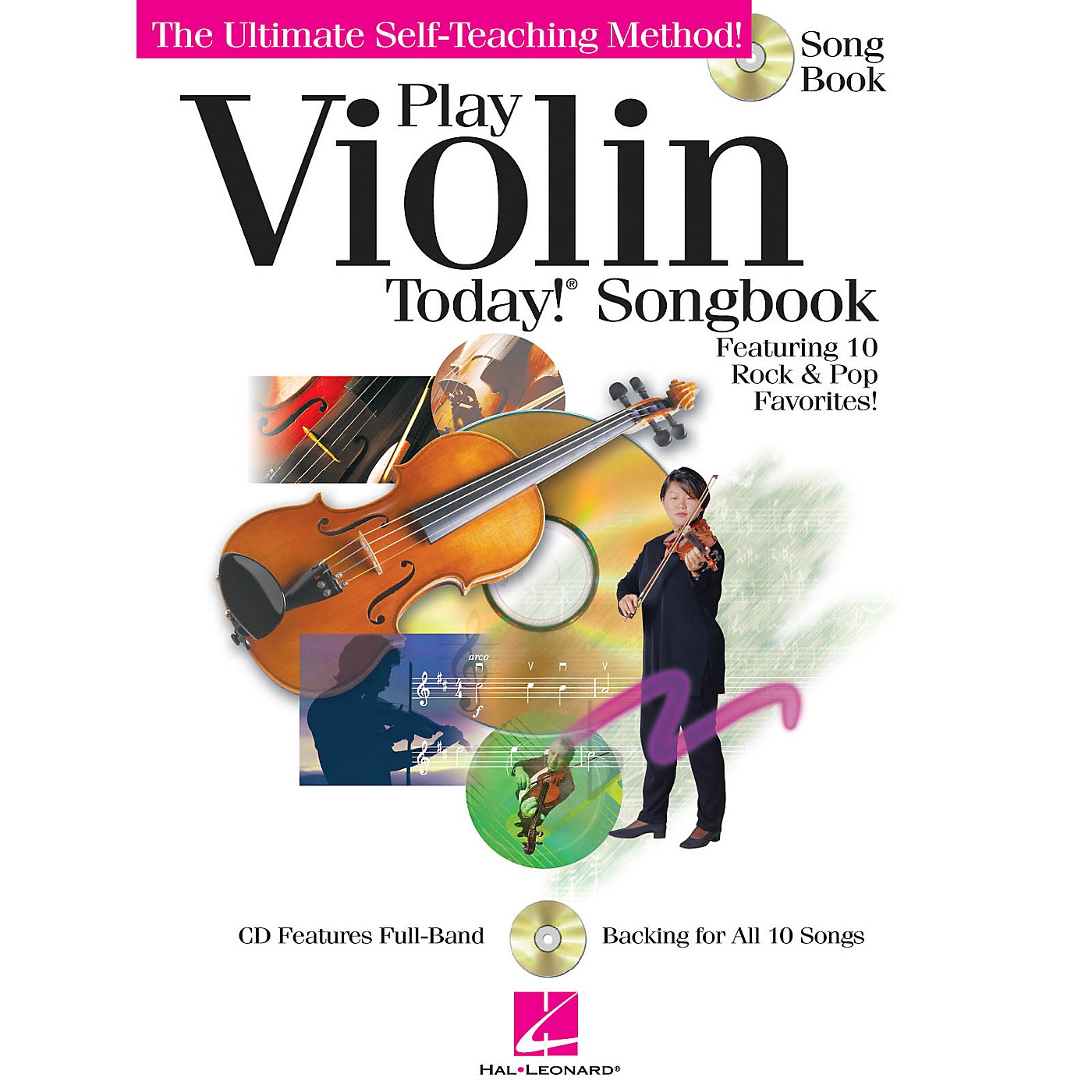 Hal Leonard Play Violin Today! Songbook Play Today Instructional Series Series Softcover with CD by Various Authors thumbnail