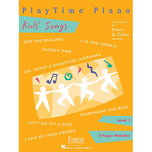 Faber Piano Adventures PlayTime Piano Kids' Songs Level 1 thumbnail