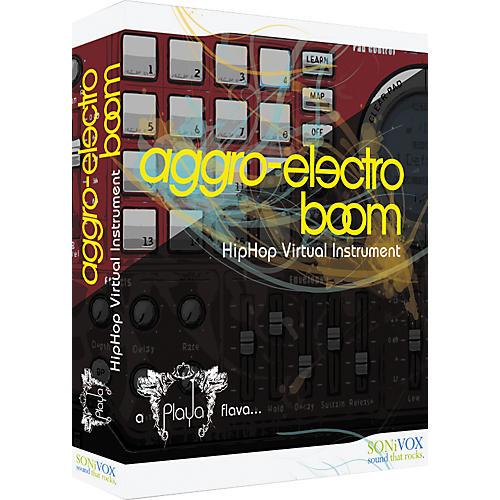 Sonivox Playa: Aggro Electro Boom Edition - Hip-Hop Samples & Virtual Instruments thumbnail
