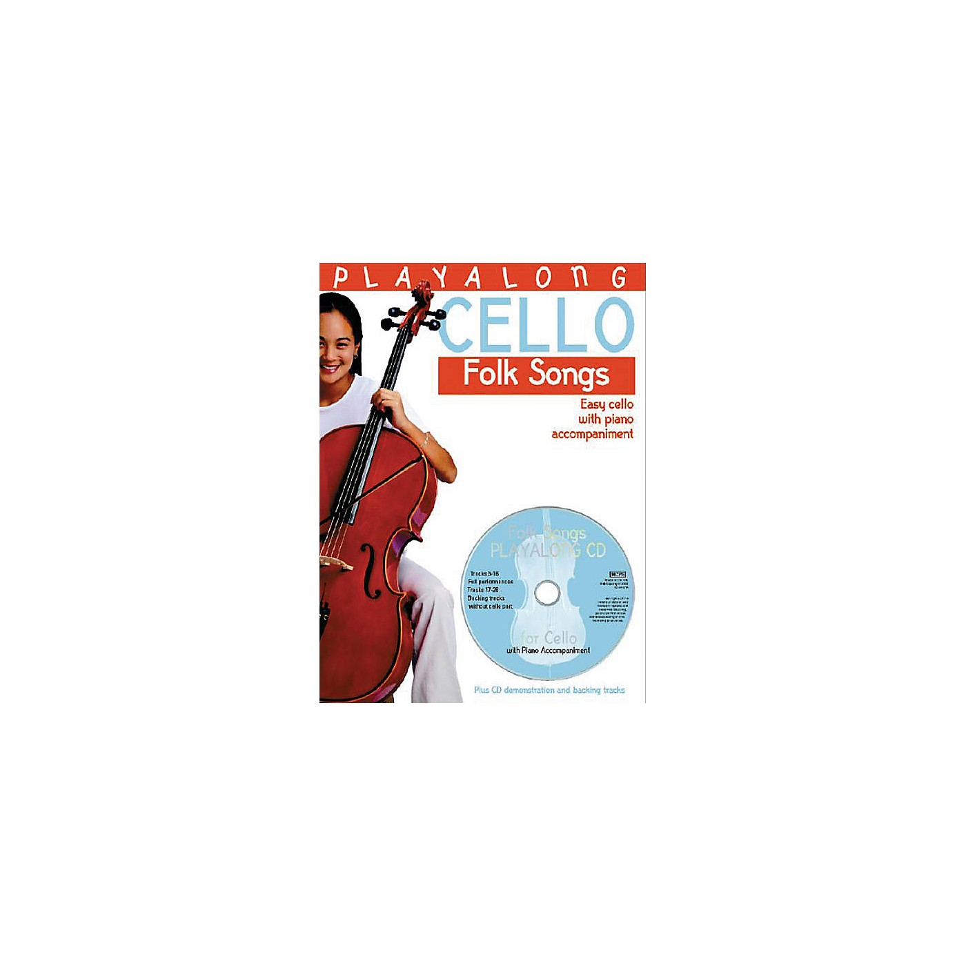 Bosworth Playalong Cello - Folk Songs (Easy Cello with Piano Accompaniment) Music Sales America Series thumbnail