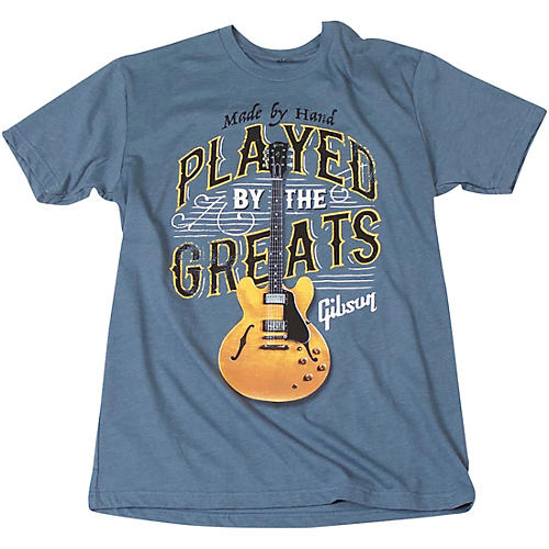 Gibson Played By The Greats Vintage T-Shirt thumbnail