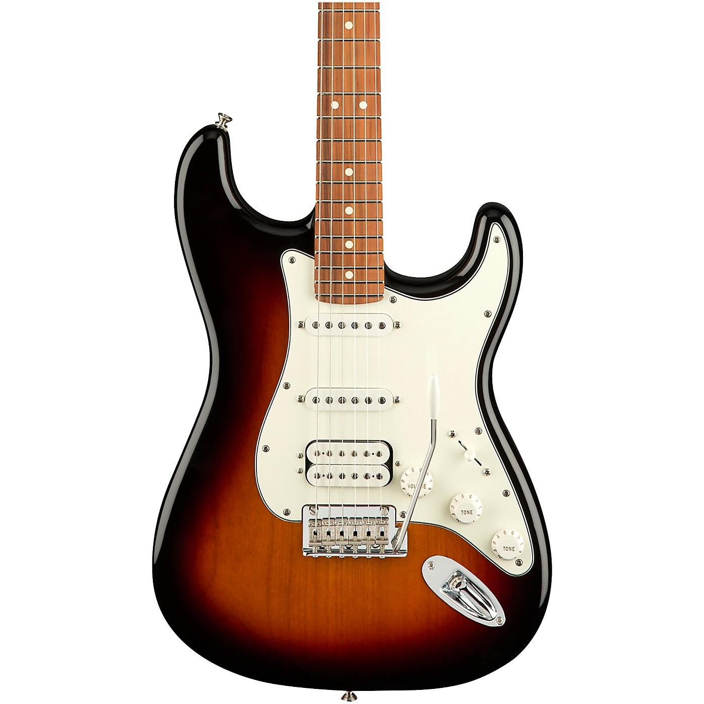 Fender Player Stratocaster HSS Pau Ferro Fingerboard Electric Guitar thumbnail