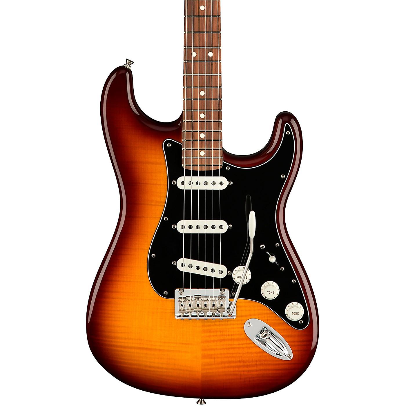 Fender Player Stratocaster Plus Top Pau Ferro Fingerboard Electric Guitar thumbnail