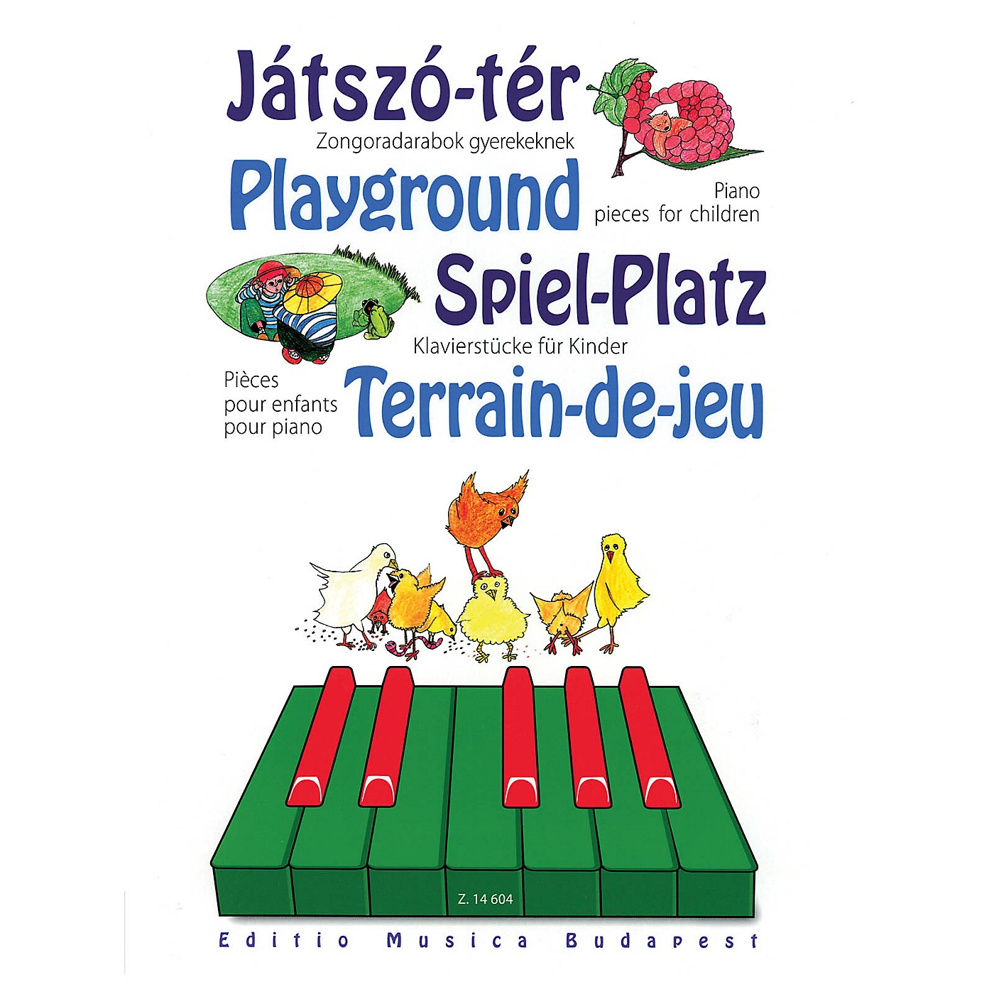 Editio Musica Budapest Playground - Piano Pieces for Children EMB Series Softcover Composed by Various thumbnail