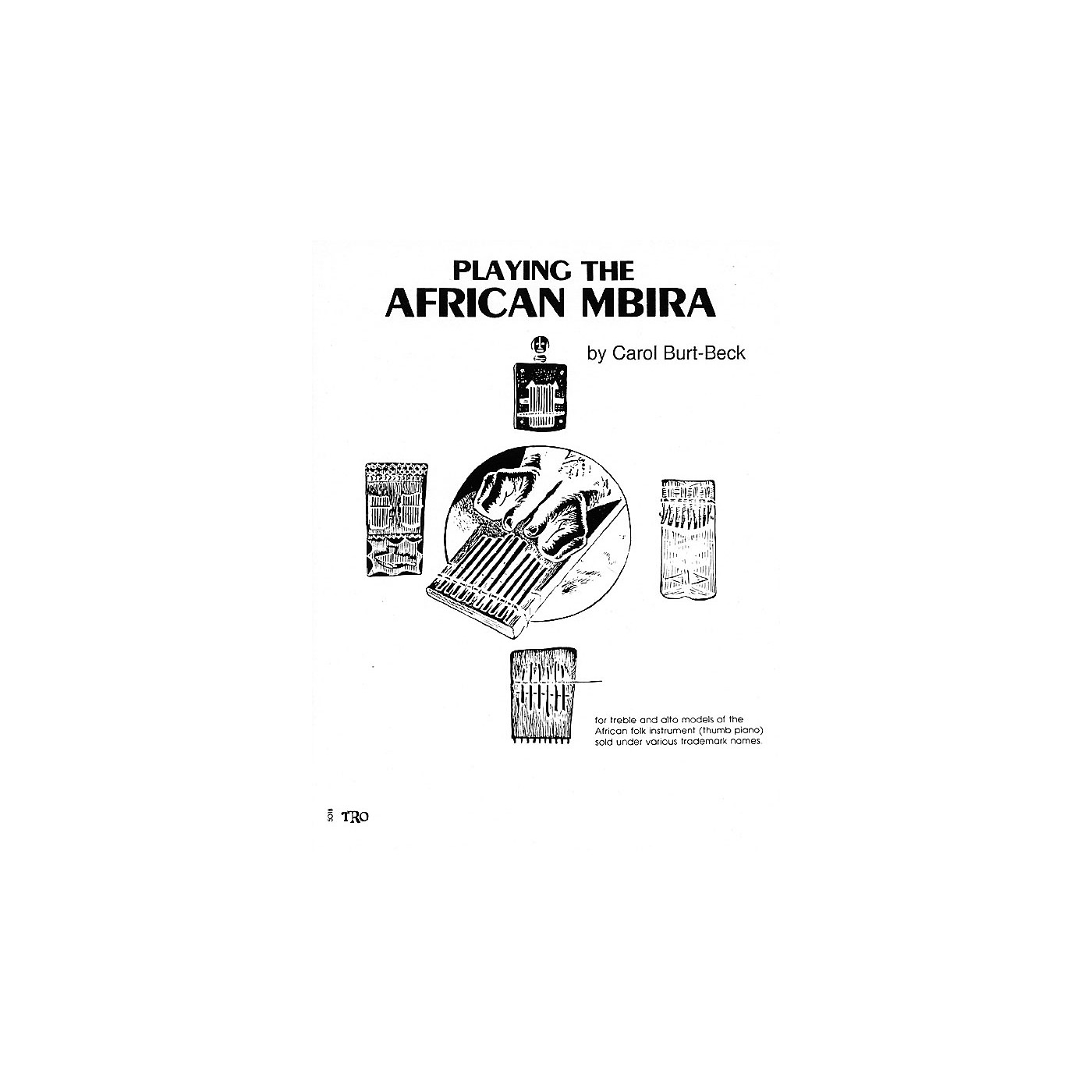 Hal Leonard Playing African Mbira Richmond Music ¯ Folios Series thumbnail