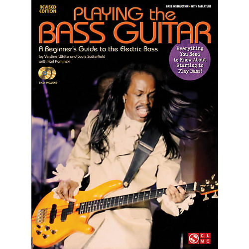 Cherry Lane Playing The Bass - A Beginner's Guide to the Electric Bass Revised Edition Book/CD-thumbnail