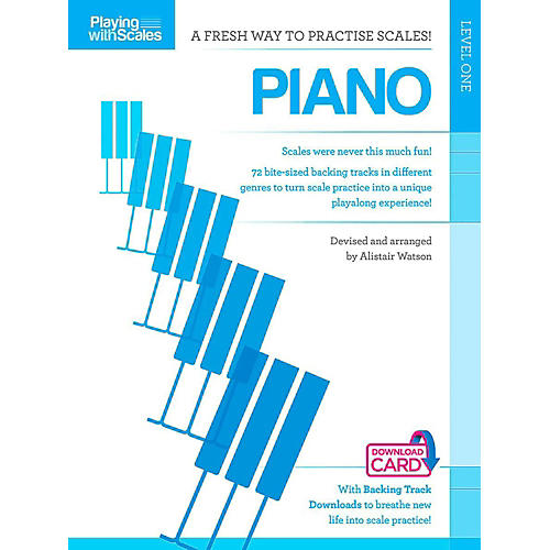 Hal Leonard Playing With Scales - Piano Book/Online Audio thumbnail