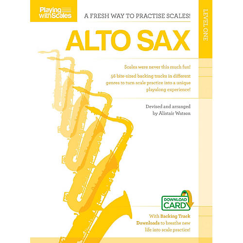 Music Sales Playing with Scales: Alto Sax Music Sales America Series Book Audio Online thumbnail