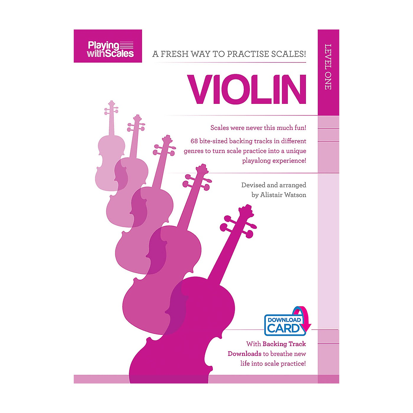Music Sales Playing with Scales: Violin Music Sales America Series Softcover Audio Online Written by Various thumbnail