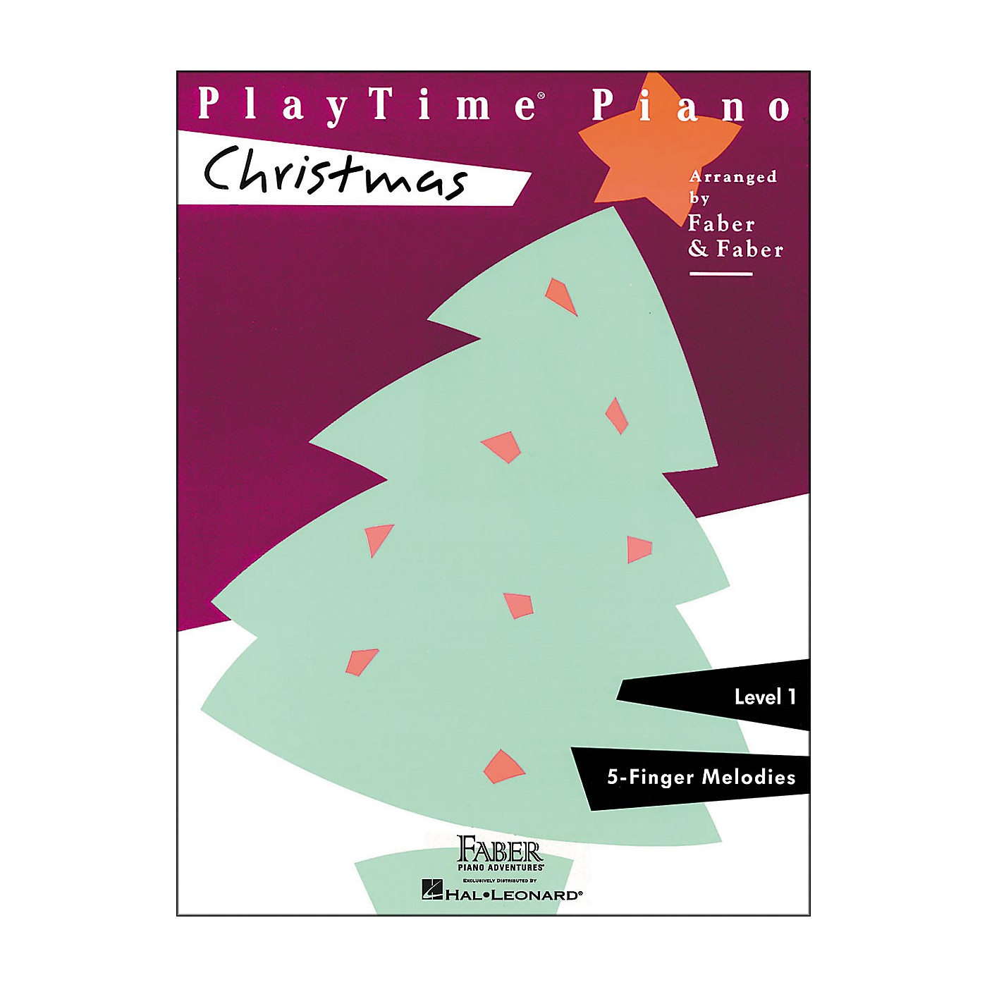 Faber Piano Adventures Playtime Piano Christmas Level 1 F-Finger Melodies - Faber Piano thumbnail