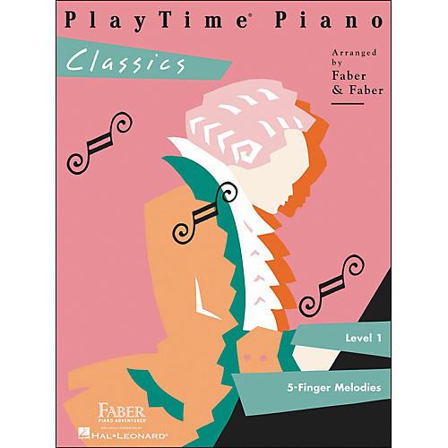 Faber Piano Adventures Playtime Piano Classics Level 1 5 Finger Melodies - Faber Piano thumbnail