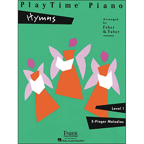 Faber Piano Adventures Playtime Piano Hymns Level 1 5 Finger Melodies - Faber Piano thumbnail