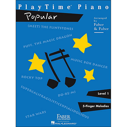 Faber Piano Adventures Playtime Popular Level 1 thumbnail