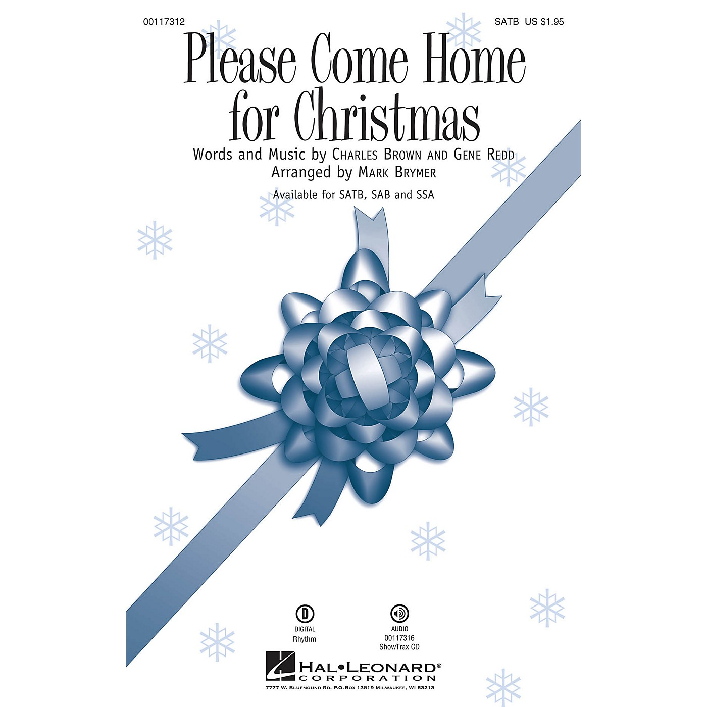 Hal Leonard Please Come Home for Christmas ShowTrax CD by Cee Lo Green Arranged by Mark Brymer thumbnail