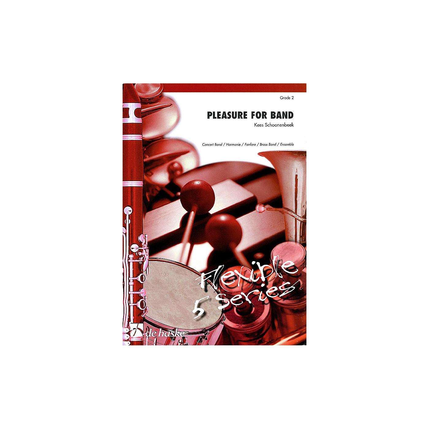 De Haske Music Pleasure for Band (Flexible 5 Series) Concert Band Level 2 Composed by Kees Schoonenbeek thumbnail