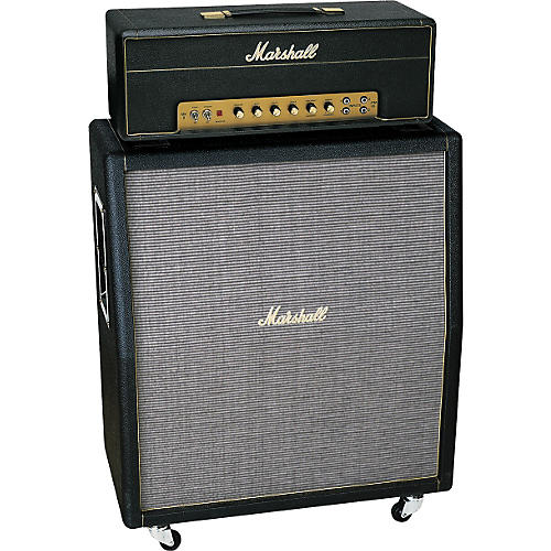 Marshall Plexi 1959SLP and 1960TV Tube Guitar Half Stack thumbnail