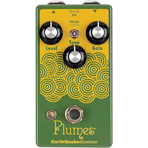 EarthQuaker Devices Plumes Small Signal Shredder Overdrive Effects Pedal thumbnail