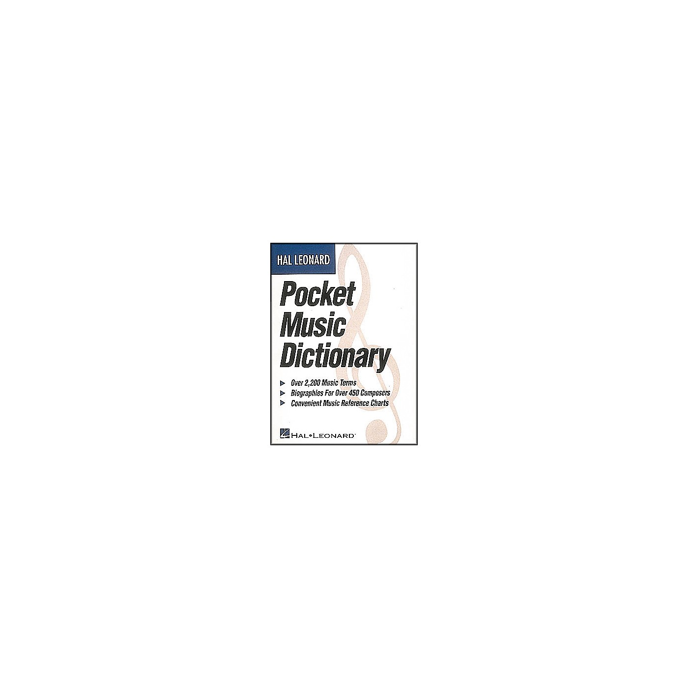 Hal Leonard Pocket Music Dictionary Book thumbnail