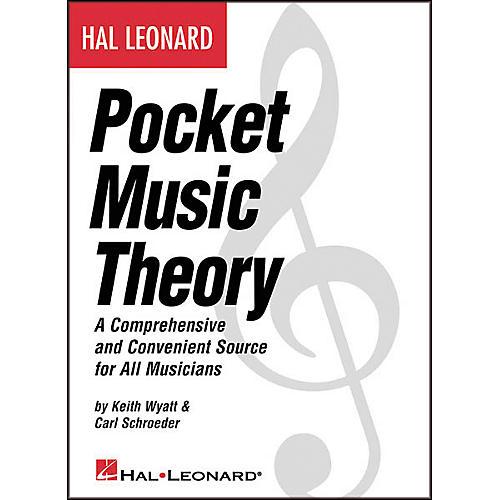 Hal Leonard Pocket Music Theory Book thumbnail