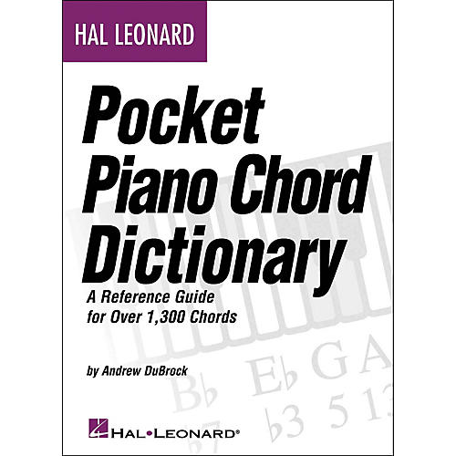 Pocket Piano Chord Dictionary Wwbw