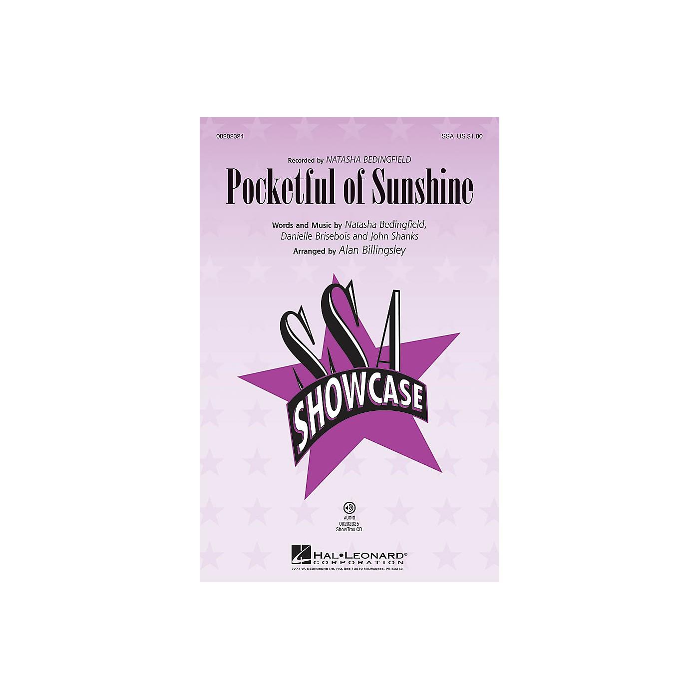Hal Leonard Pocketful of Sunshine ShowTrax CD by Natasha Bedingfield Arranged by Alan Billingsley thumbnail