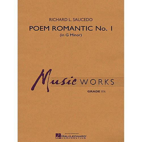 Hal Leonard Poem Romantic No. 1 (In G Minor) Concert Band Level 1 thumbnail